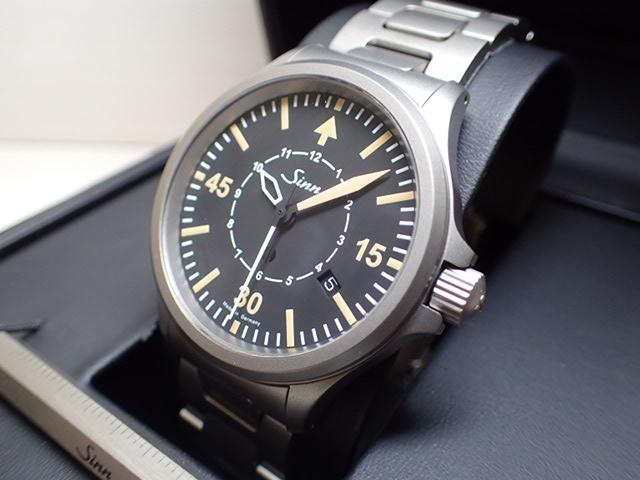 ジン 腕時計 SINN 856.B-Uhr優美堂のジン腕時計はメーカー保証つきの正規輸入商品です