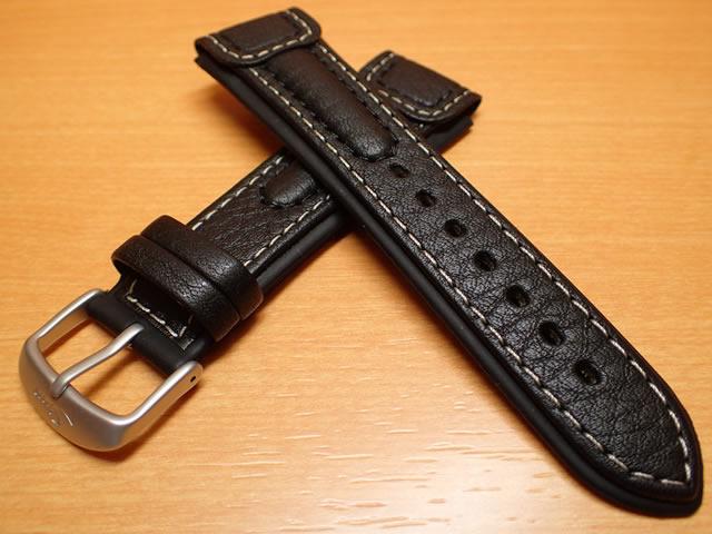 SINN ジン 腕時計 Sinn 純正バンド ベルト144,157,EZM4用 (20mm) &142用 (22mm) 牛革 インテグレーション・カウ・レザー・ストラップ SSマット・バックル 腕時計用 時計ベルト 時計用バンド