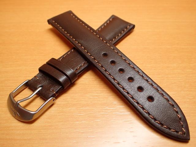 【SINN】 ジン 腕時計 Sinn 純正 腕時計 バンド ベルト ロシアン カウレザー ストラップ 濃茶色 20mm SSサテン(ヘアーライン)、SSマット(つや消し)、SSポリッシュ(鏡面) 腕時計用 時計ベルト 時計用バンド