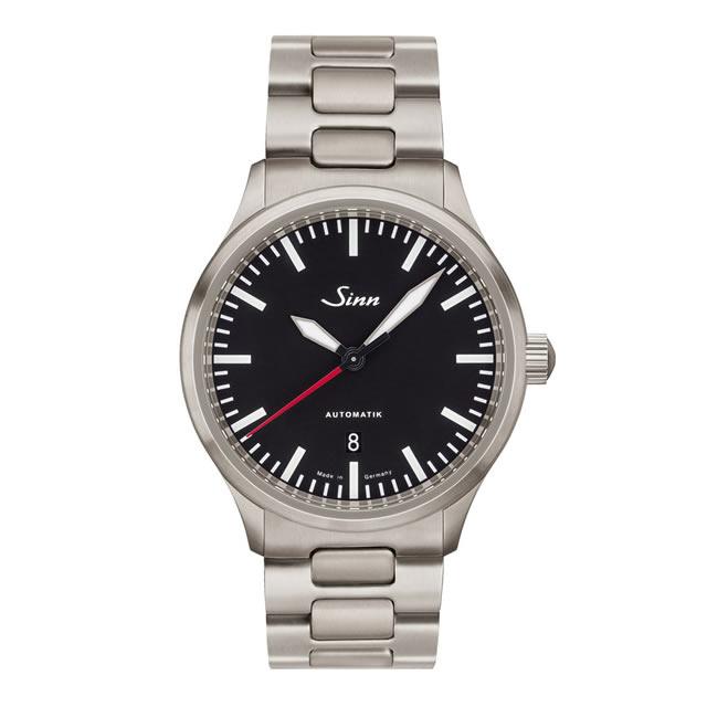 ジン Sinn 836 ブレスレット仕様 腕時計 分割払いもOKです 80,000A/mまで耐磁性能を備えた計器ウォッチ