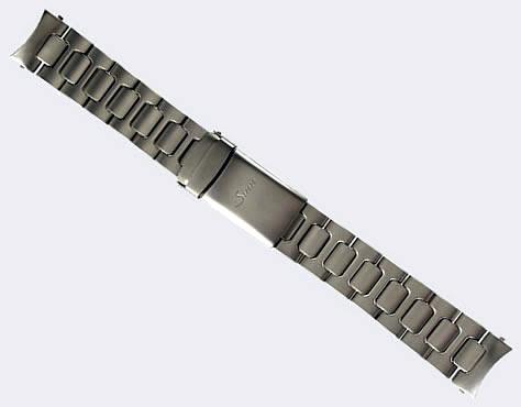 【SINN】 【ジン】 時計 ベルト バンド ブレスレット 757、857、EZM7 (22mm) 純正ステンレススチール 時計バンド SSテギメント