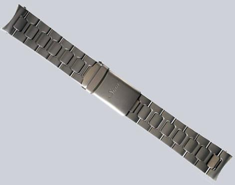 【SINN】 【ジン】 時計 ベルト バンド ブレスレット Uシリーズ (22mm) 純正ステンレススチール 時計バンド SSマット
