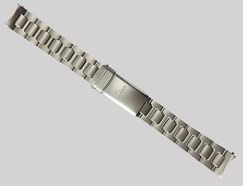 【SINN】 【ジン】 時計 ベルト バンド ブレスレット U200用 (18mm) 純正ステンレススチール 時計バンド SSマット