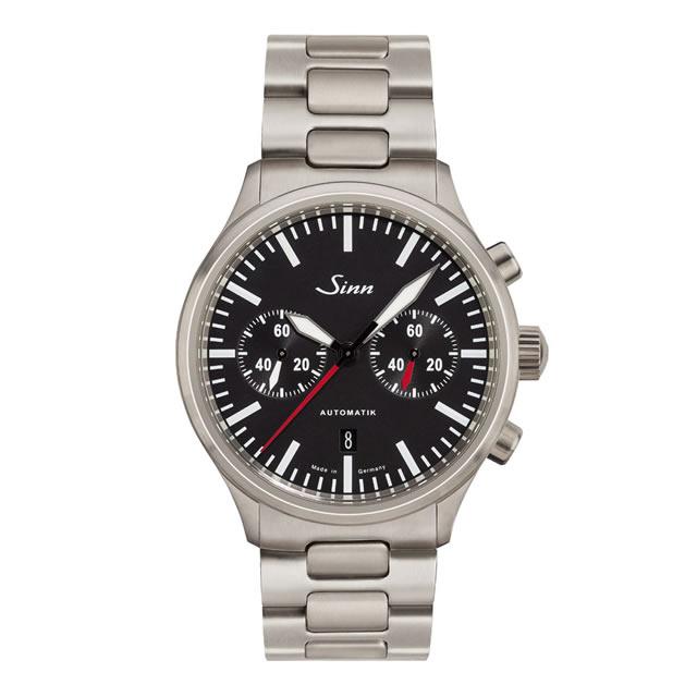 ジン Sinn 936 ブレスレット仕様 腕時計 分割払いもOKです 60分積算計を搭載したバイコンパックス・クロノグラフ
