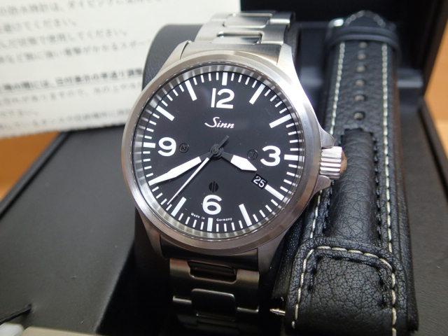 ジン 腕時計 日本限定50本 SINN 856B.STN.M 優美堂のジン腕時計はメーカー保証つきの正規輸入商品です