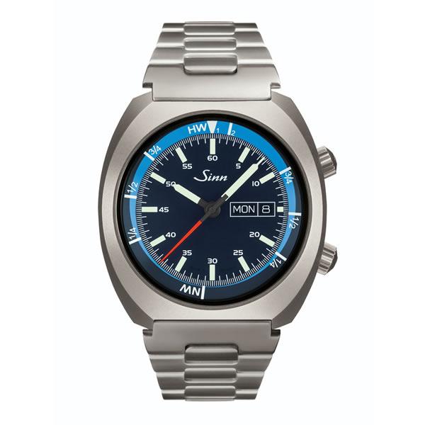 ジン 腕時計 Sinn 240.ST.GZ.M潮汐を確認できるタイドメーターを備えたモデル