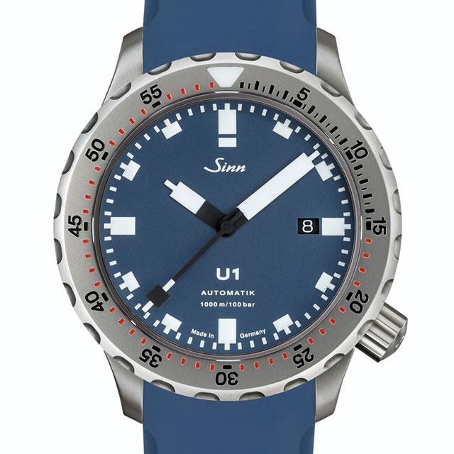 ジン 腕時計 SINN U1.B人気のブルー文字盤コレクションのプロフェッショナルダイバーズウォッチです