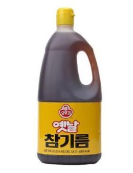 『オトギ(オットギ)』ごま油 1.8L BOX(1.8L X 6本)<韓国調味料>