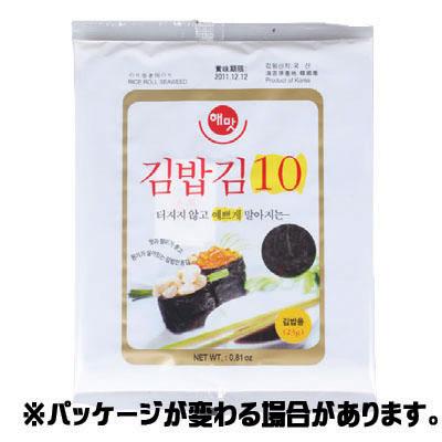 のり巻き用のり 中古 SALE開催中 10枚 韓国のり 韓国海苔