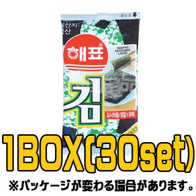 『ヘピョ』ミニのり(■BOX 30入) <韓国のり・韓国海苔>