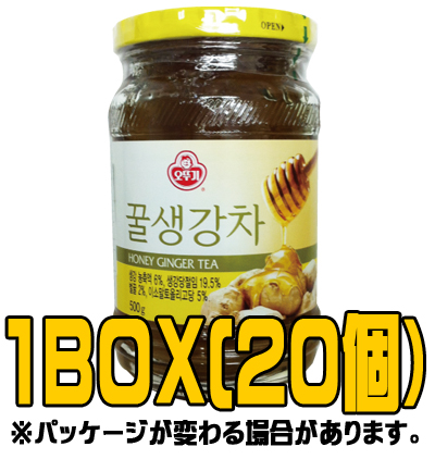 『オトギ(オットギ)』蜂蜜生姜茶 500g(■BOX 20入) <韓国伝統茶・韓国健康茶>