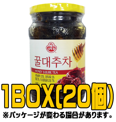 『オトギ(オットギ)』蜂蜜なつめ茶 500g(■BOX 20入) <韓国伝統茶・韓国健康茶>
