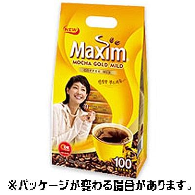 メクシム モカコーヒー MAXIM MOCHA 100入 インスタントコーヒー 信託 お買い得 韓国コーヒー