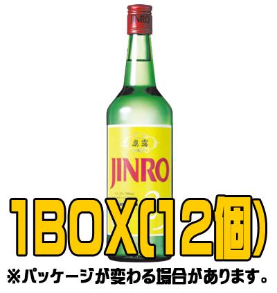 『眞露(ジンロ)』ジンロ 700ml(■BOX 12入) <韓国焼酎>