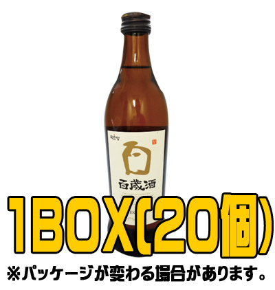百歳酒 375ml(■BOX 20入) <韓国焼酎>