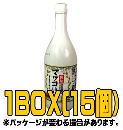 『楊州』梨マッコリ 1L(■BOX 15入) <韓国どぶろく>