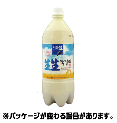 Seoul students makgeolli 950 ml < doburoku Korea >