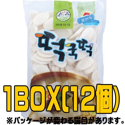 『松鶴(ソンハク)』米トック 1kg(■BOX12入)<韓国トック・韓国トッポキ>