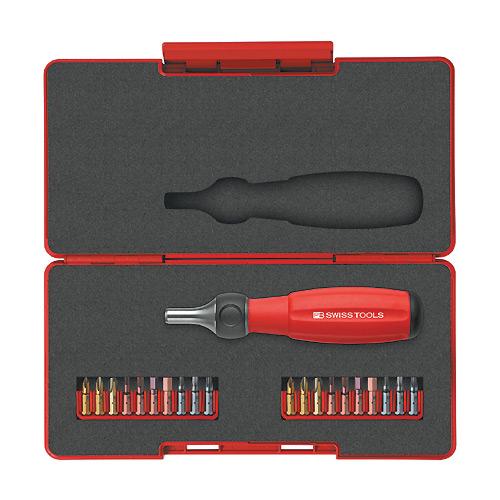 スイスツール ツイスター ラチェットドライバーセット(ショート)[8510R-30SET]『工具』[SWISS TOOLS]【スイスの名門工具】