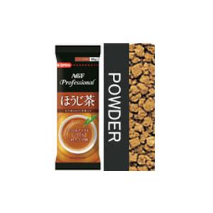 送料無料 こうばしい香りとあまみを楽しめます AGF Professional エージーエフ 食品 プロフェッショナル 25%OFF 給茶機用 男女兼用 ほうじ茶 60g×20本