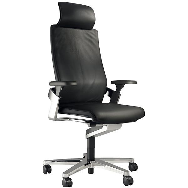 『事務機器』コクヨ (KOKUYO) 回転イス ON ハイバック 肘付 アルミ脚 ヘッドレス付 XWH-175714HSL7499【回転イス】【オフィスチェアー】【椅子】【いす】【代引き不可】【土日の配送不可】