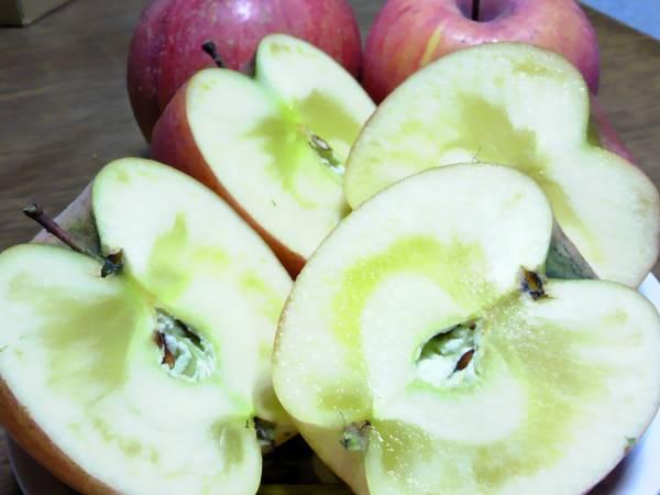 【訳あり】【りんご、ふじ】バラ詰め!お徳用メガ入り11キロ!昔の甘い完熟サンふじ家庭用