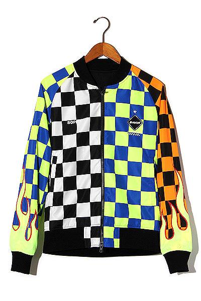 【中古】未使用品 2019SS F.C.Real Bristol FCRB F.C.R.B REVERSIBLE PDK JACKET リバーシブル ジャケット S MULTI/● メンズ 【ベクトル 古着】 200508 ベクトル 新都リユース