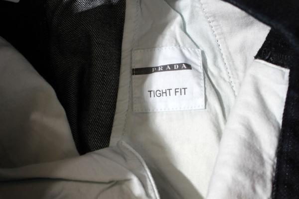 PRADA プラダ TIGHT FIT DENIM PANTS タイトフィットデニムパンツ ジーンズ 32 インディゴ 国内正規品メンズベクトル 古着200513 ベクトル 新都リユース8kZwONXn0P