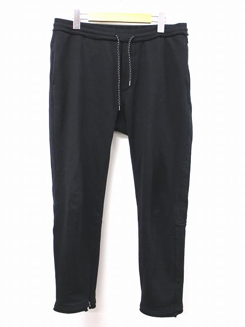 ダブルジェイケイ wjk サイドライン スウェット パンツ XL 黒 ブラック side line sweat pants 5853 mj51k メンズ 【中古】【ベクトル 古着】 181005 ベクトル 新都リユース