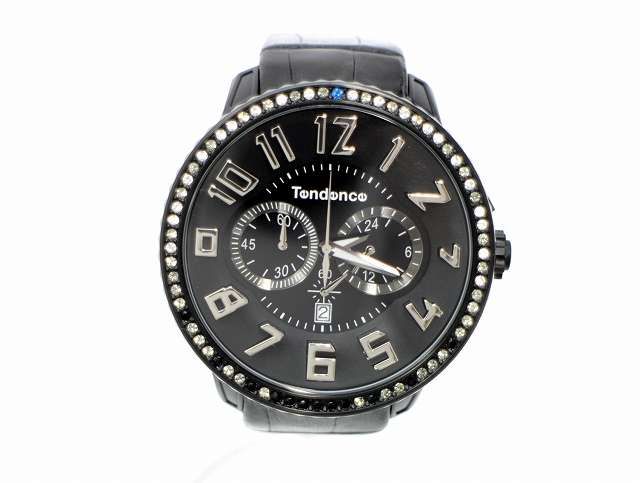 【中古】テンデンス Tendence ガリバー デラックス スワロフスキー GULLIVER DX TDC-TY460623 腕時計 300本限定商品 メンズ 【ベクトル 古着】 200802 ベクトル 新都リユース