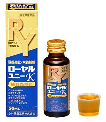 【第2類医薬品】小林薬品工業 ローヤルユニーK 50ml×24本【コンビニ受取対応商品】