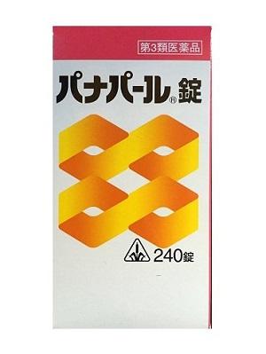 【第3類医薬品】ホノミ漢方 パナパール錠240錠×4個セット 【あす楽対応】※在庫無時は取寄せ