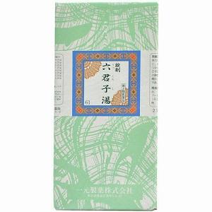 【第2類医薬品】一元六君子湯(りっくんしとう):2000錠【コンビニ受取対応商品】