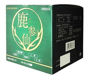 【JPS製薬】鹿参仙 (ろくじんせん)30包 ×2箱セット/冷え性/疲れ/大棗/鹿角膠【コンビニ受取対応商品】