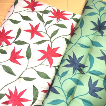 手作り純綿、敷き布団、シビラコーマサテン、綿100%【送料無料】10P05Sep15