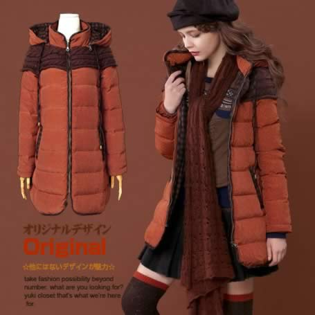 オリジナルデザイン 上質ダウン90%Aラインダウンコート 上品 ダウン90% 取り外し可能フード付き 暖かい ミディアム丈 着痩せ