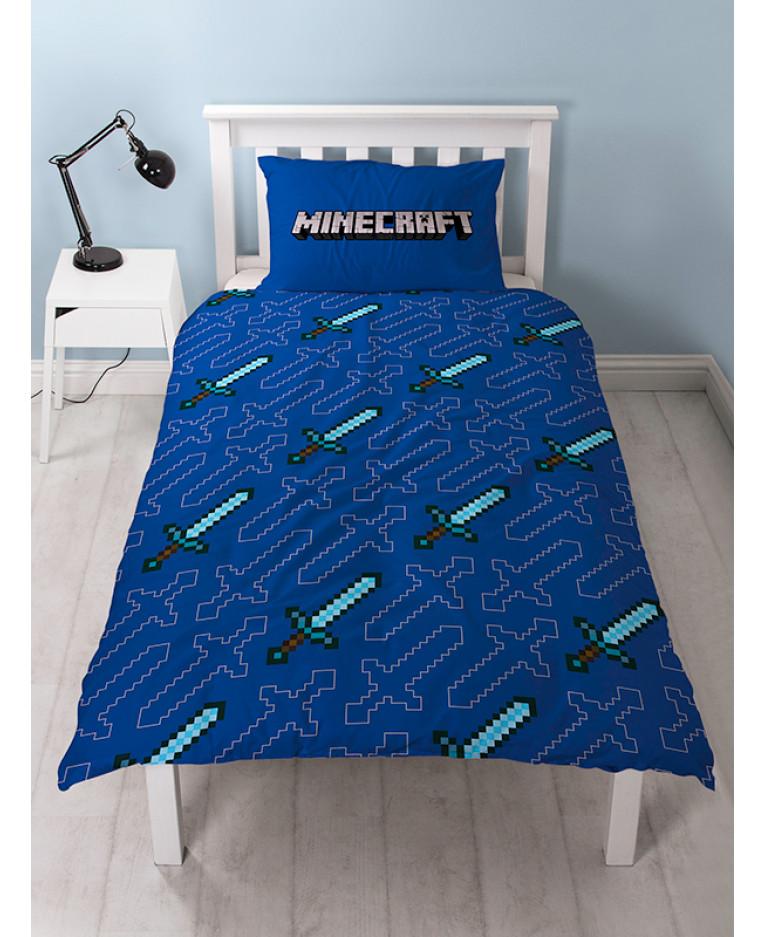 マインクラフト MINECRAFT レゴ LEGO 布団カバー + 枕カバー セット シングル