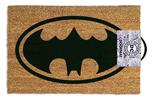 屋外用ドアマット バットマン ロゴ 40cm×60cm