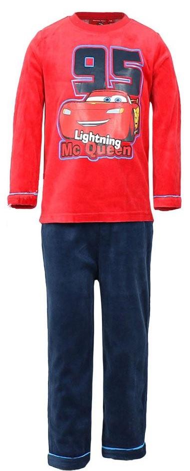 Disney Cars ディズニー 開店記念セール カーズ パジャマ ベルベット生地 子供服 上下セット 長袖 赤 予約