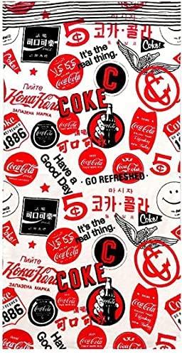 キャラクター タオル コカ コーラ Coca Cola 140cm 綿100% 上品 国内即発送 ビーチタオル x 70cm バスタオル