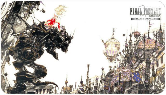 プレイマット ファイナルファンタジー [正規販売店] 6 Final Fantasy Trading Card Game 新発売 60x34 Play cm VI Mat