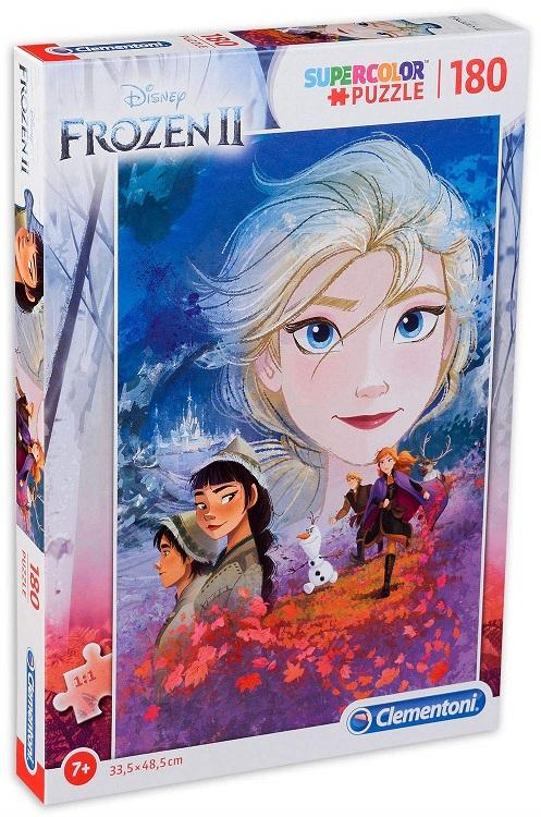 ディズニー 『4年保証』 アナと雪の女王 贈与 ジグソーパズル 180ピース Frozen Disney Puzzle