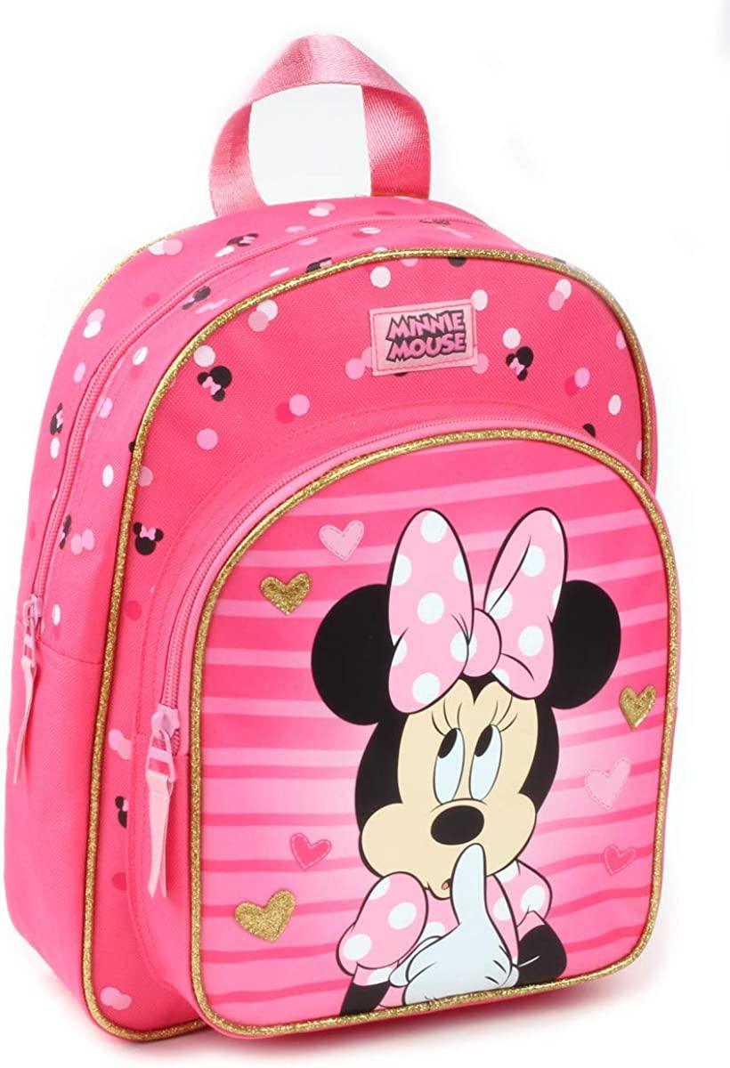 ディズニー ミニーマウス 高級な バックパック 当店は最高な サービスを提供します リュックサック 10cm x 31cm 29cm