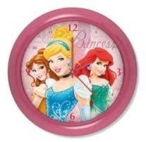 キャラクター 時計 特売 壁掛け時計 通販 ディズニープリンセス Disney Princess ベル 掛け時計 アリエル Clock シンデレラ Wall ウォールクロック 直径24cm