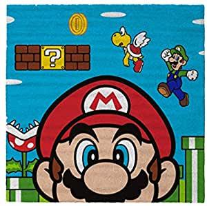 スーパーマリオ Super 超激安 Mario ラグ マット Rug 直輸入品激安 x 絨毯 80cm