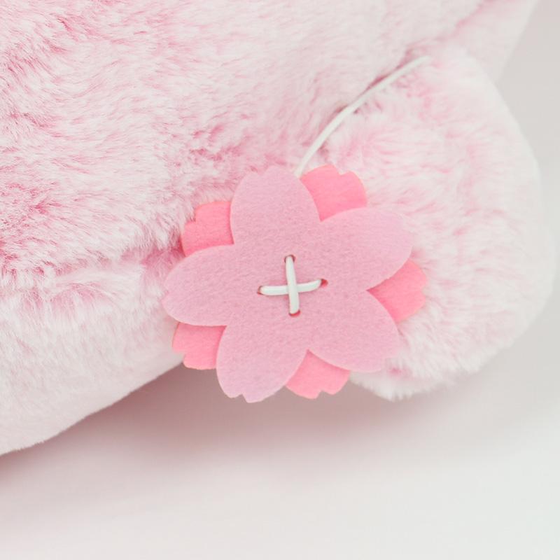 しろたん ふんわり 桜色 抱き枕 大 85cm創業祭記念発売 あざらし アザラシ ぬいぐるみ 抱きぐるみ 抱きまくら 桜 さくら サクラ かわいい キャラクター マザーガーデン