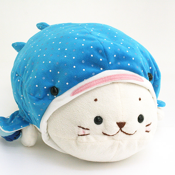 Get AQ phlegm whale sharks to the makeover pillow «blue»