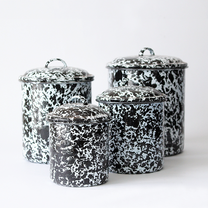 【CROW CANYON HOME】CANISTER SET 4PCS / キャニスターセット 4個SET