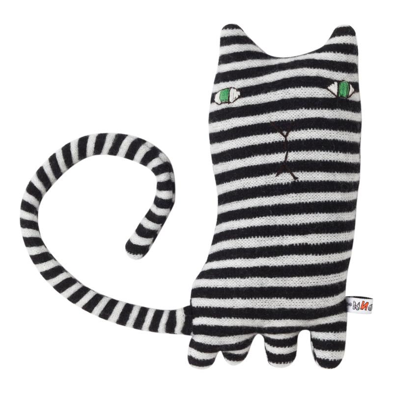 ▼送料無料▼【DONNA WILLSON】Mono Cat モノクロ猫 / ドナ・ウィルソン UK