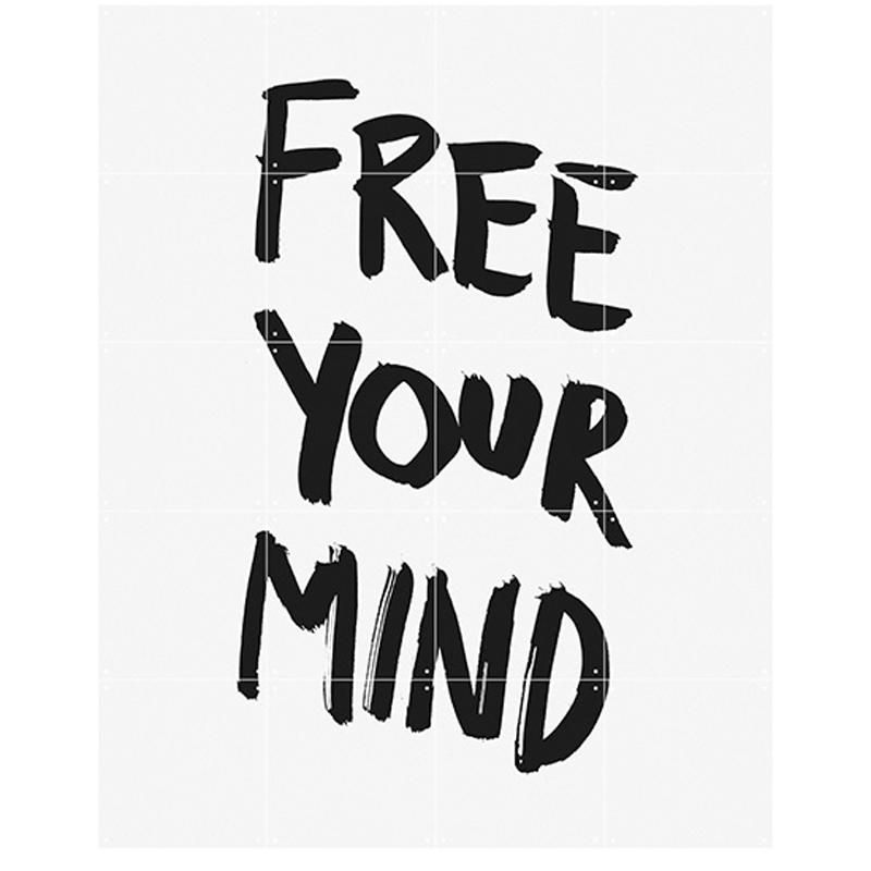 【ixxi】Free your mind ウォールピクチャー 80cm×100cm / En Vogue